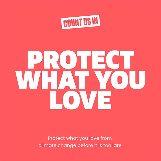 Count Us In Protect What You Love Branding in Asia