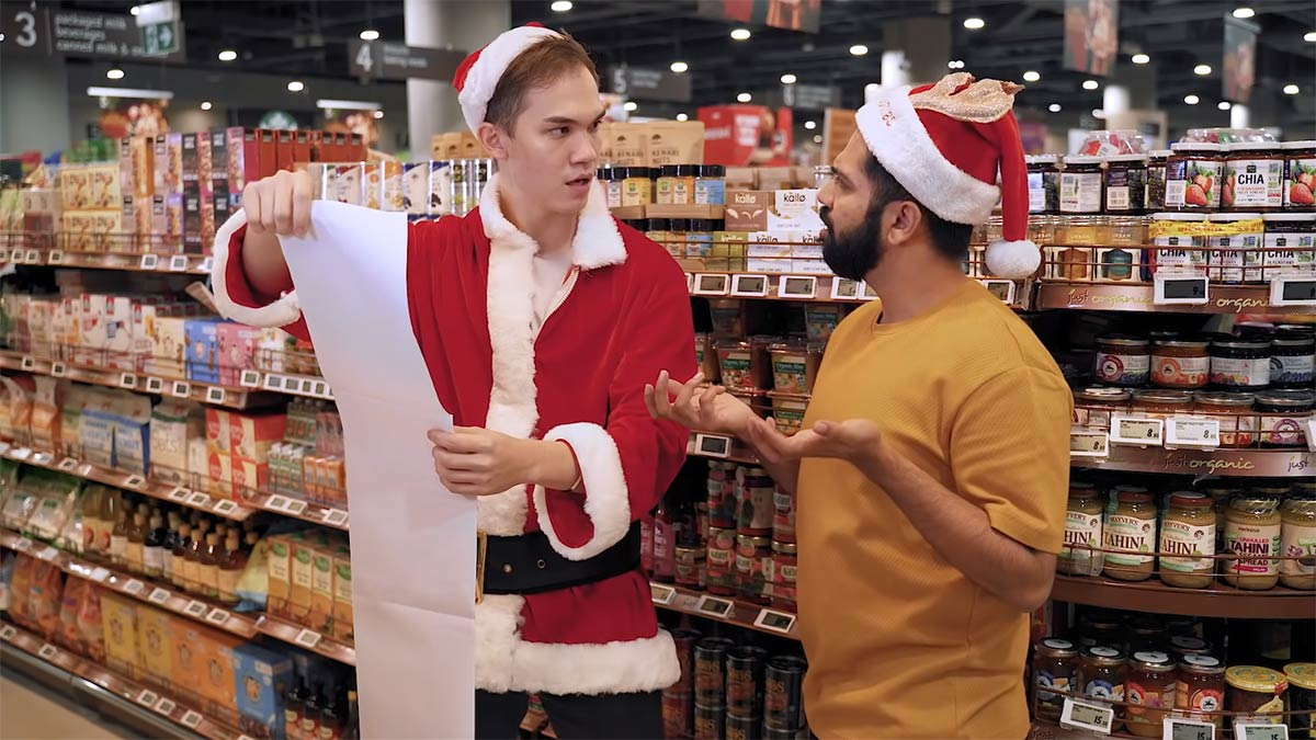 FairPrice Introduces Us to the Five Types of Christmas Shoppers