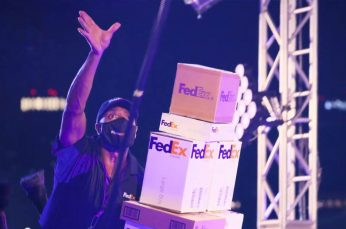 FedEx Holiday Campaign Runs Their Delivery Guy Through The Rigors Required for the Season
