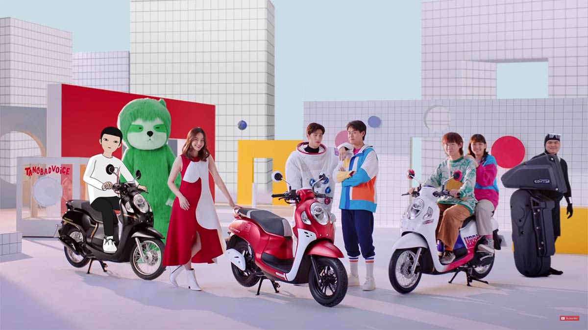 Honda Utilizes an Army of Stars to Reach a Modern Audience in New Scoopy Spot