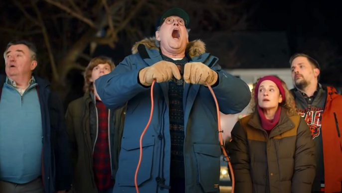 Chevy Chase Returns as Clark Griswold in Christmas Ad for the Mustang Mach-E