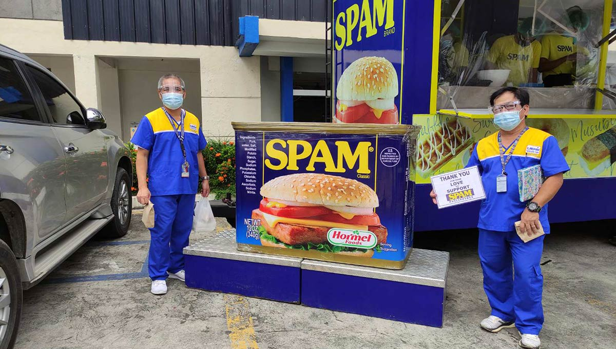 Spam Launches Online Shop to Help Health Workers in the Philippines