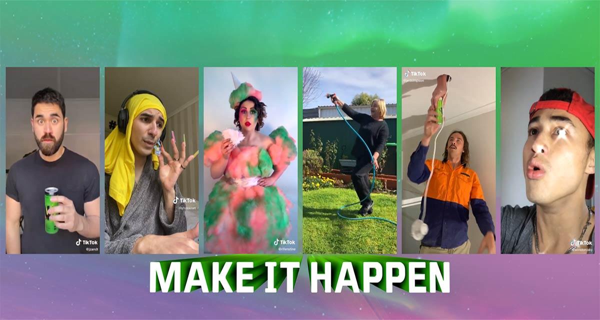 V Energy 'Makes it Happen' on TikTok