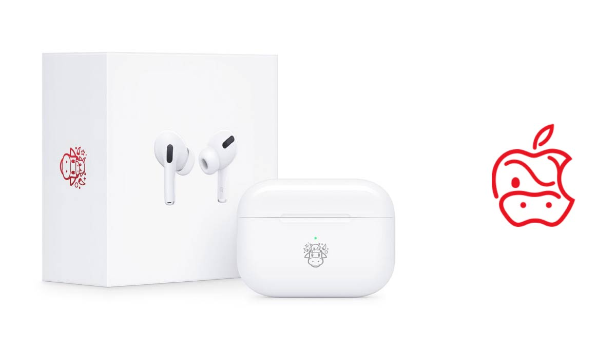 Limited-Edition AirPods Ring in the Year of the Ox