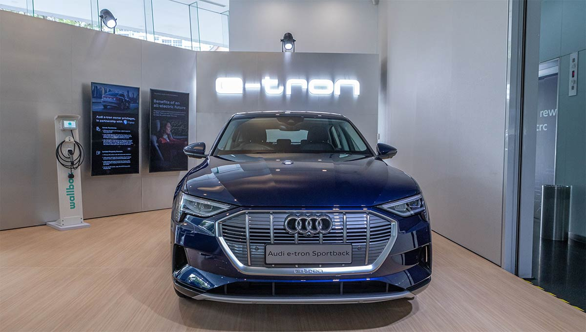 Audi Unveils New Electric Models in Singapore