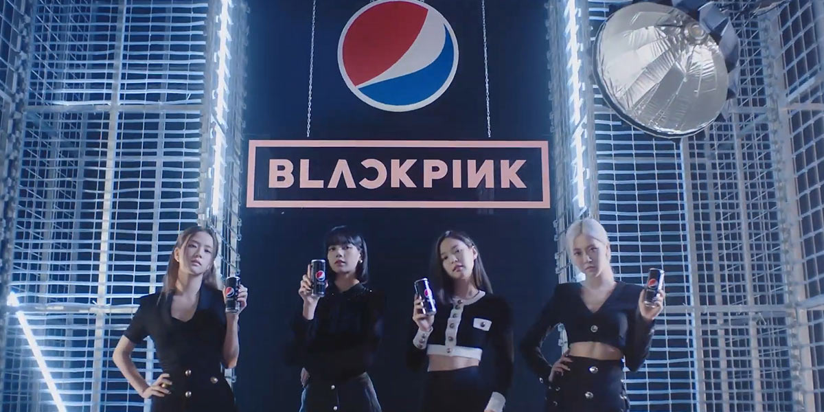 Blackpink Says Yes to Pepsi Black in New Campaign