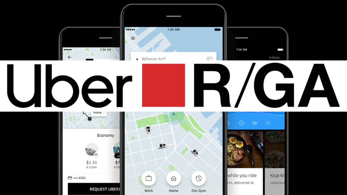 Uber Global Selects R/GA as Social AOR