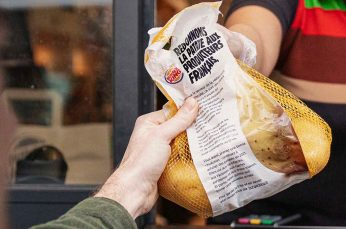 Burger King Launches Campaign to Support French Potato Farmers