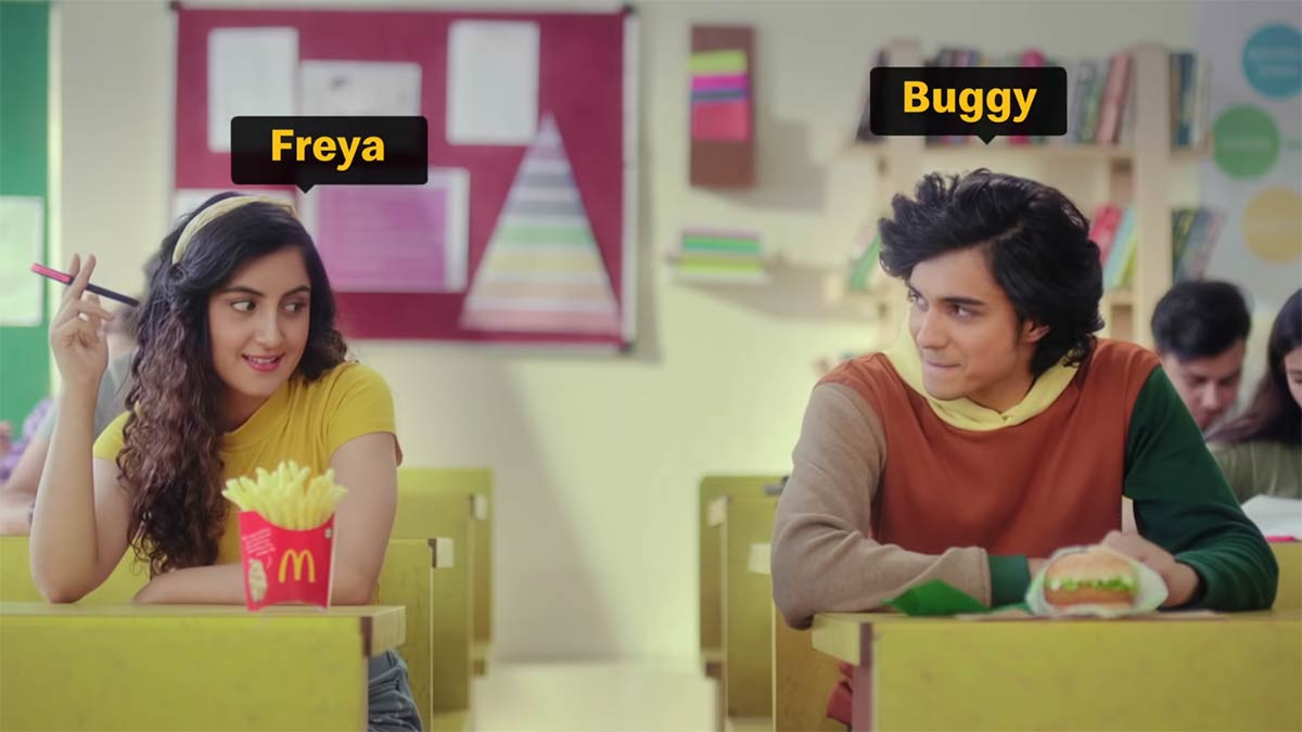 McDonald's India Asks Customers to Resolve a Mc-Love-Triangle