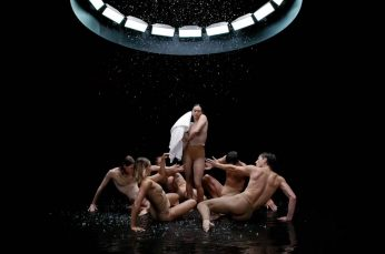 The Sydney Dance Company Pirouette Through the Rain to Sell Sheridan Towels