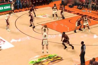Half Court for Hamburgers, Burger King's Menu Hits the Court on NBA2k21