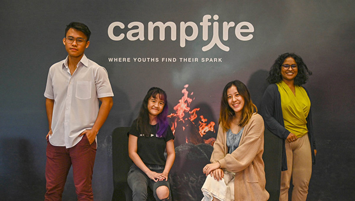 The National Youth Council Launches Campfire, a Creative Program for Youths