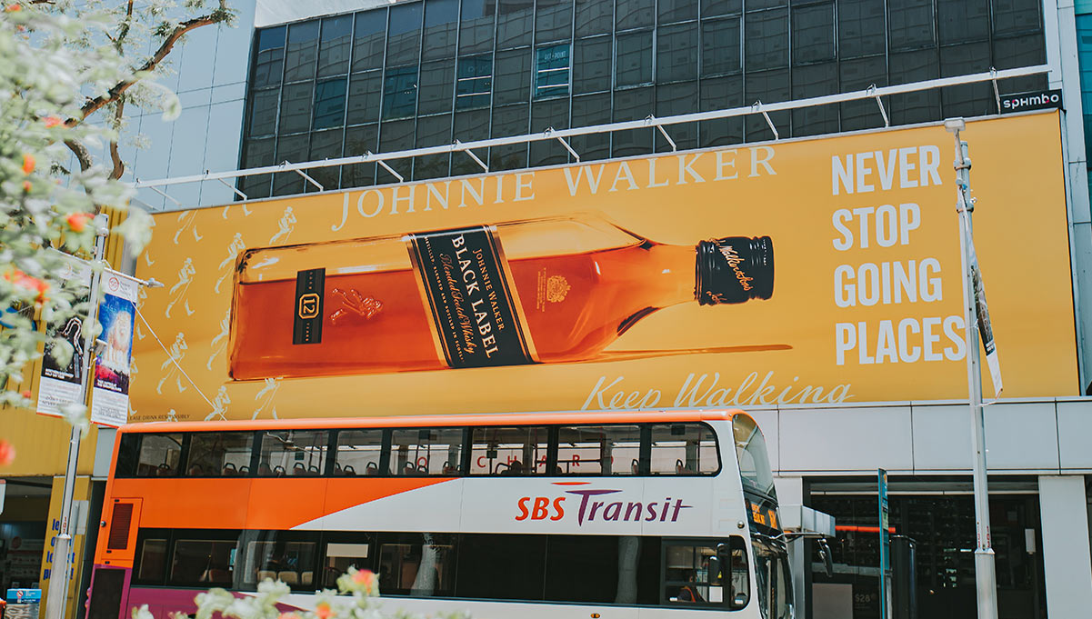 72andSunny Win Johnnie Walker Account and Launch OOH Campaign