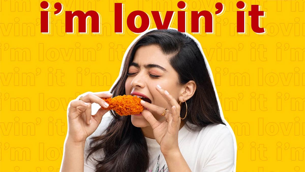 McDonald's India Appoints Rashmika Mandanna as Brand Ambassador
