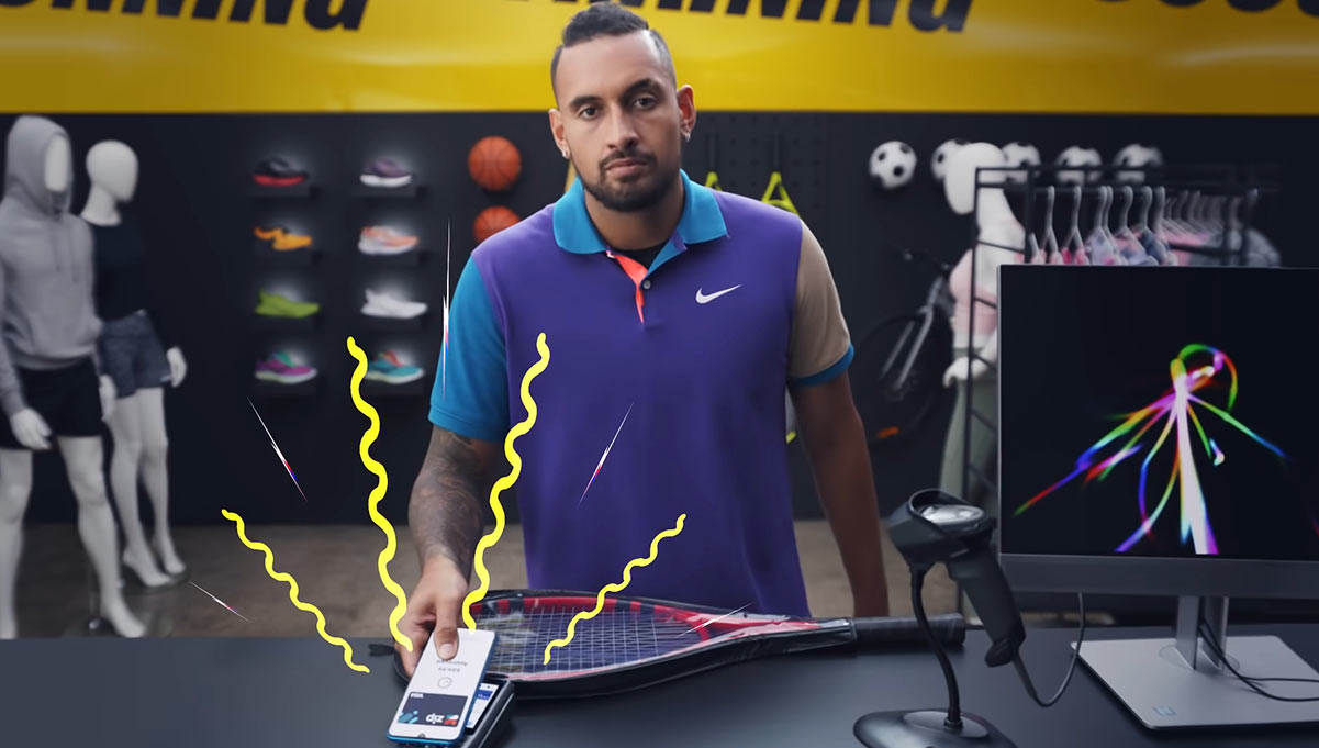 """Nick Kyrgios and Others Ask, """"Can I Zip It?""""(Spoiler: Yes, You Can)"""