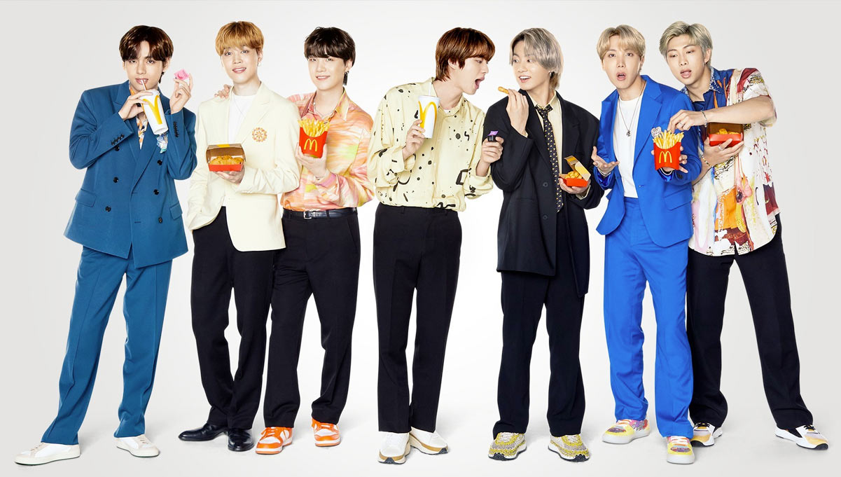 BTS Meal & Merchandise Collaboration with McDonald's Launches in the US