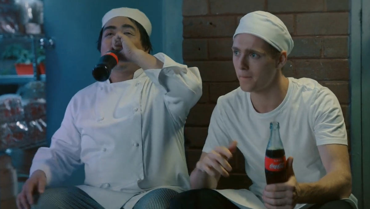 Coca-Cola's Here to Help You Kick Back and Relax