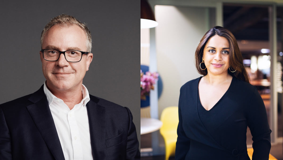 Andrew Little and Priya Patel Promoted to Senior Leadership Positions at DDB Group