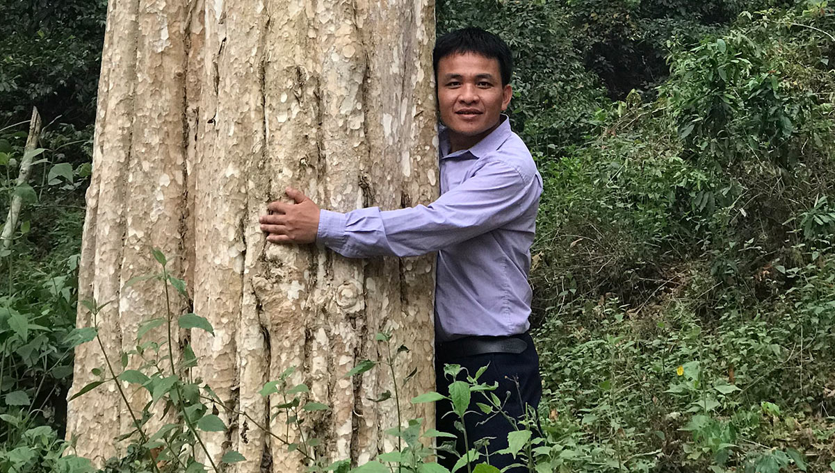 Q&A: Ngo Van Hong Talks About Campaign in Vietnam to Encourage Reforestation