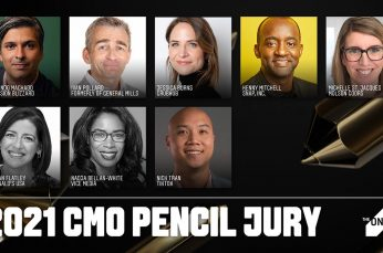 Jury of Eight Global Marketers Chosen to Select The One Show CMO Pencil Award Winner