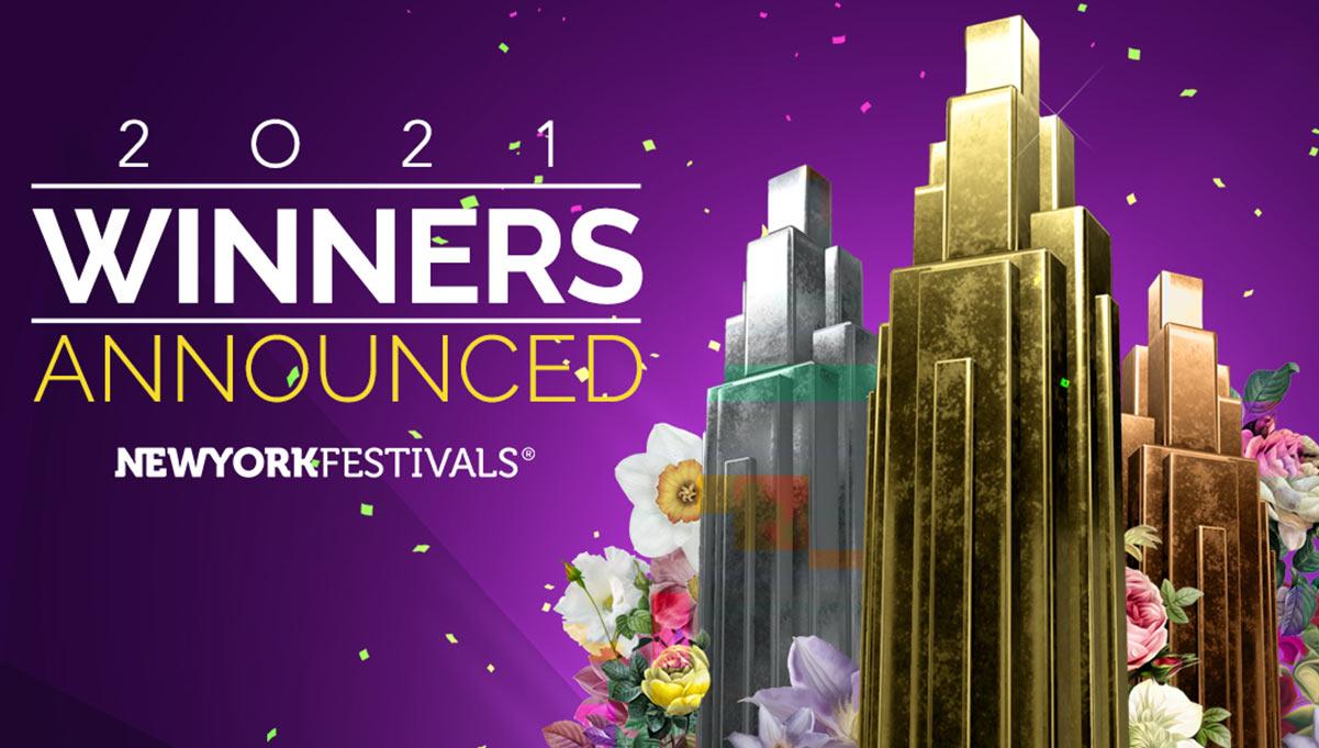 Winners Announced at The New York Festivals Advertising Awards