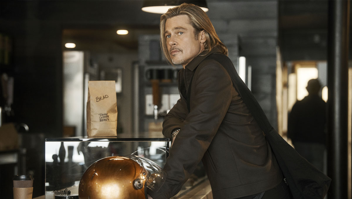 A Day in the Life of Brad Pitt – Motorcycles, Coffee and You
