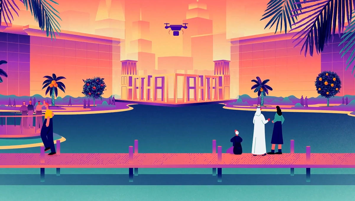 Dubai Internet City Rolls Out Animated Campaign Where Anything is Possible