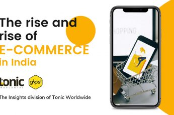 Tonic Launches New Report Highlighting Booming E-Commerce in India