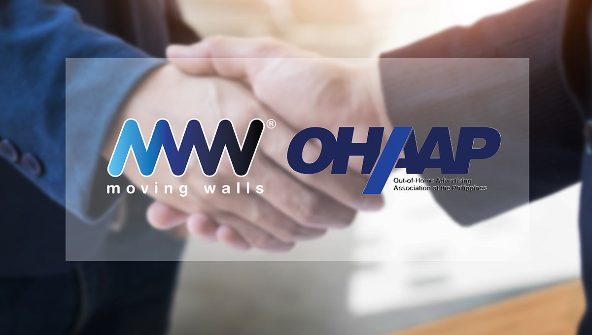 Out of Home Advertising Association of the Philippines Partners with Moving Walls