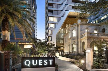 Quest Apartment Hotels Awards Account to The Core Agency