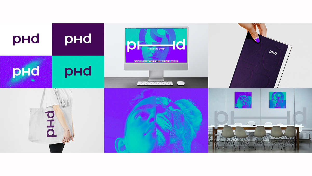 PHD Launches Refreshed Brand Identity